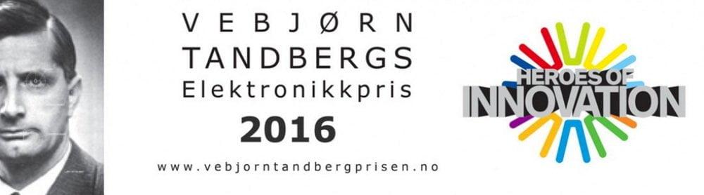ZAPTEC tildelt Vebjørn Tandberg Award 2016