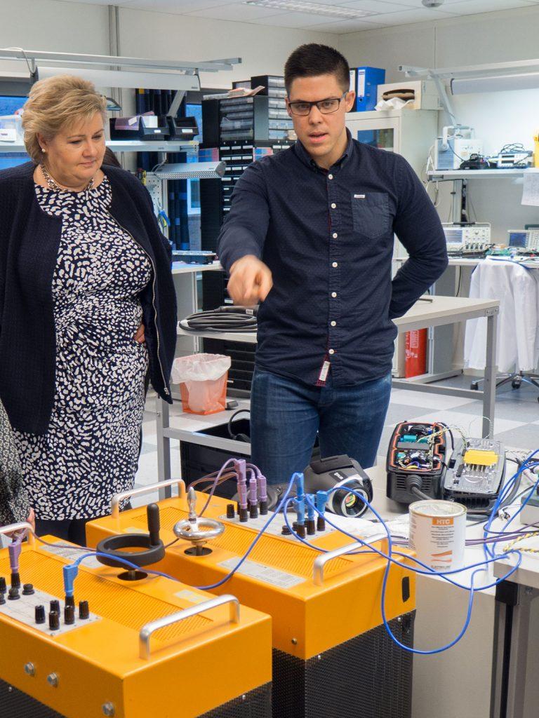 elbillading, Norsk innovasjon, Erna solberg, Zaptec