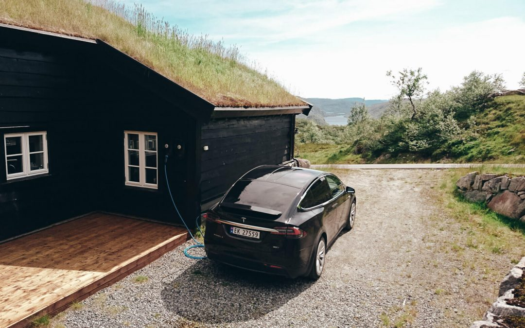 First Cabin with EV chargers, ZapCharger Pro