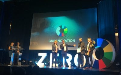 ZAPTEC wins greenovation award
