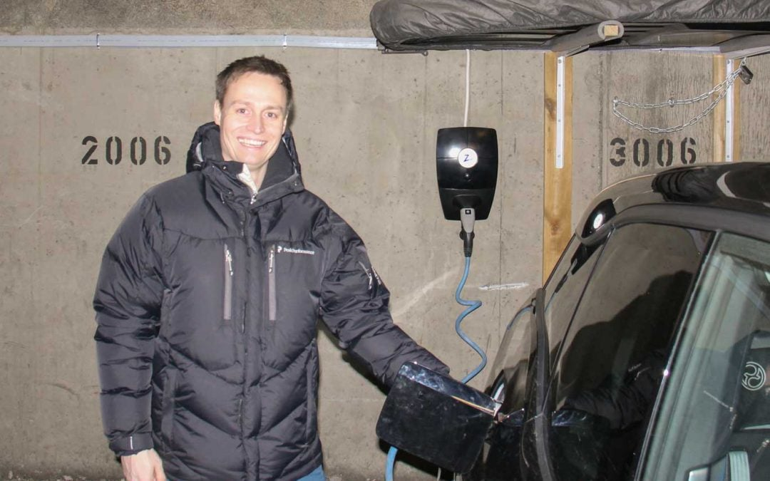 Nordseterskogen housing company has EV ready garage with ZAPTEC