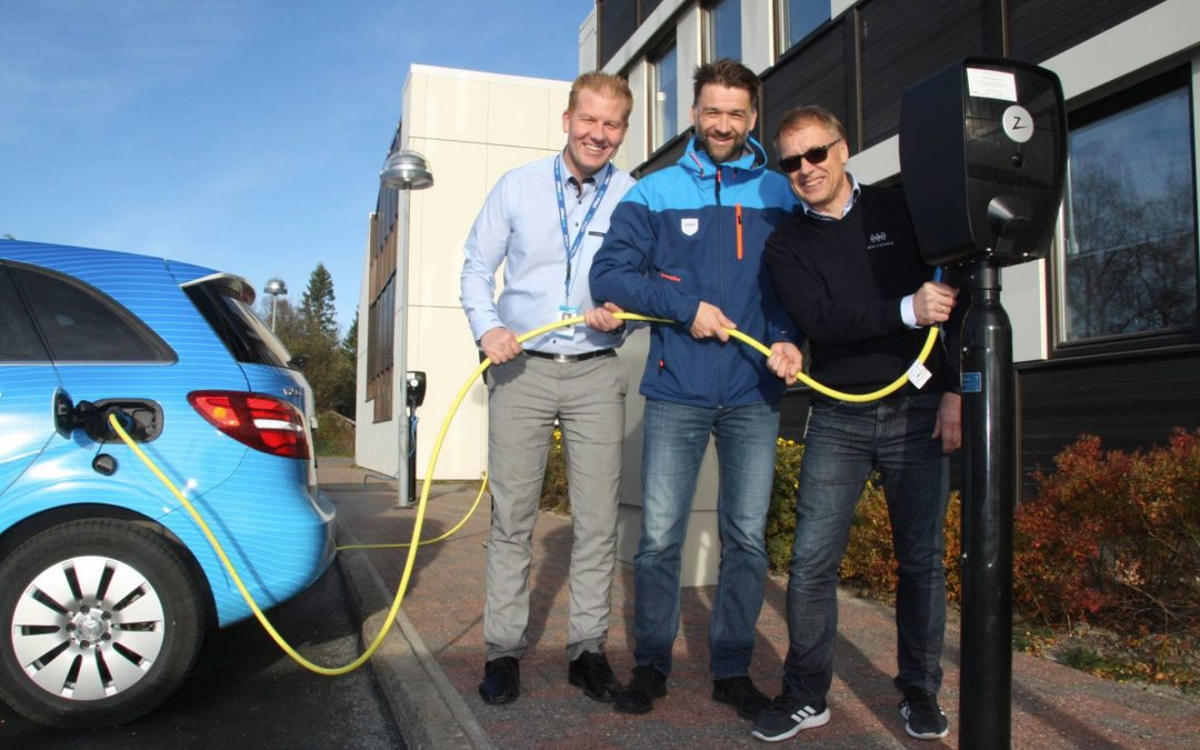Office Link was one of the first to see the huge potential in EV Charging