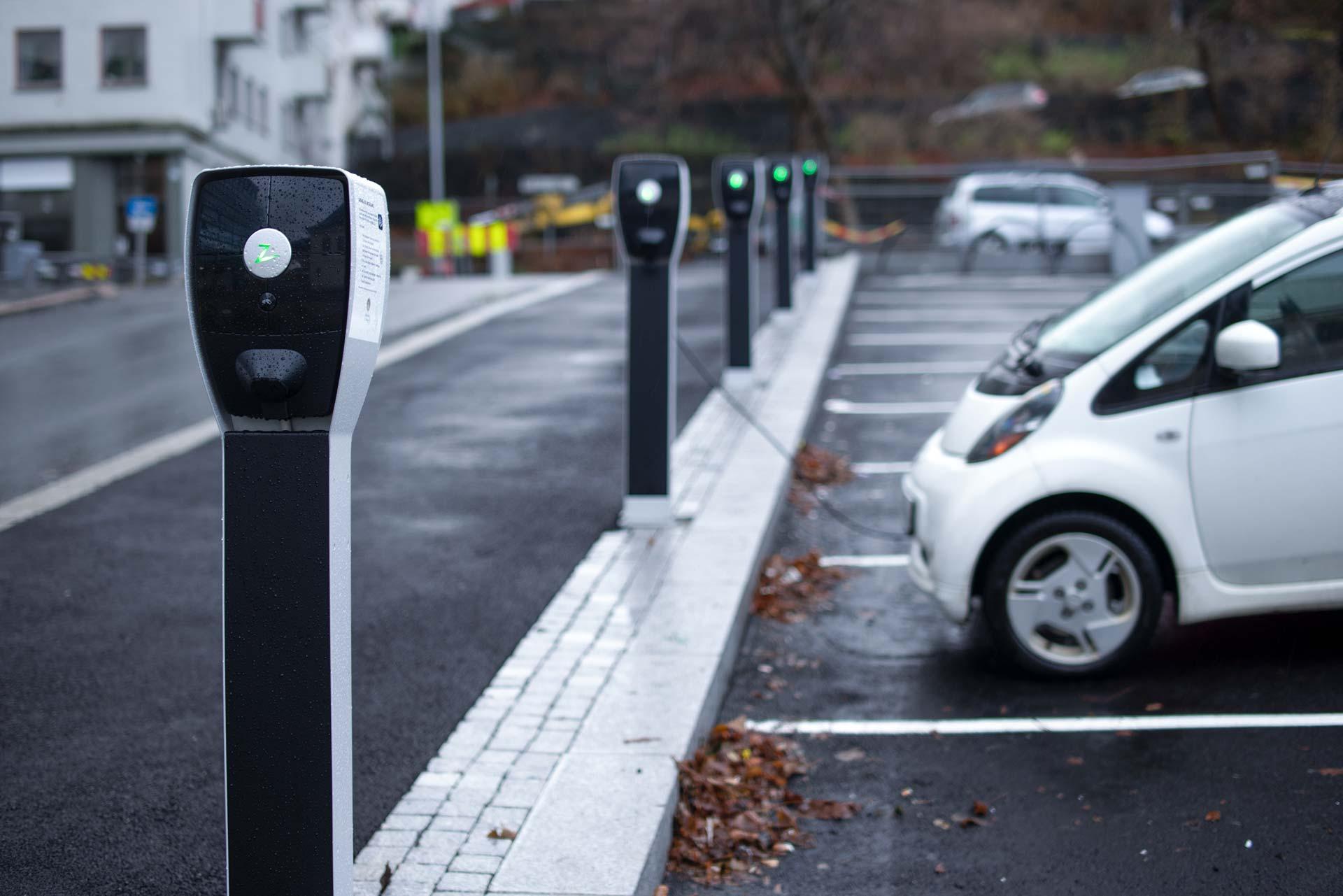 Bergen Kommune legger til rette for elbillading Zaptec AS