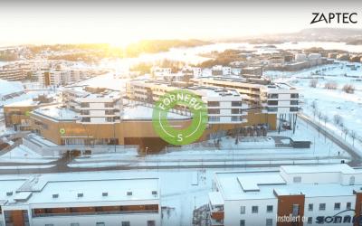 Kjøpesenteret Fornebu S i Oslo tilbyr kundene elbillading