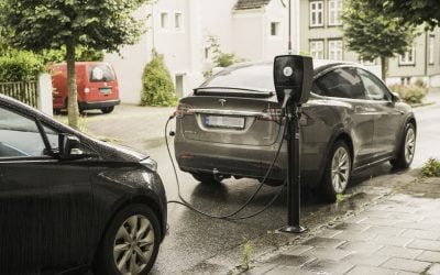 Electric vehicle parking in Oslo Municipality