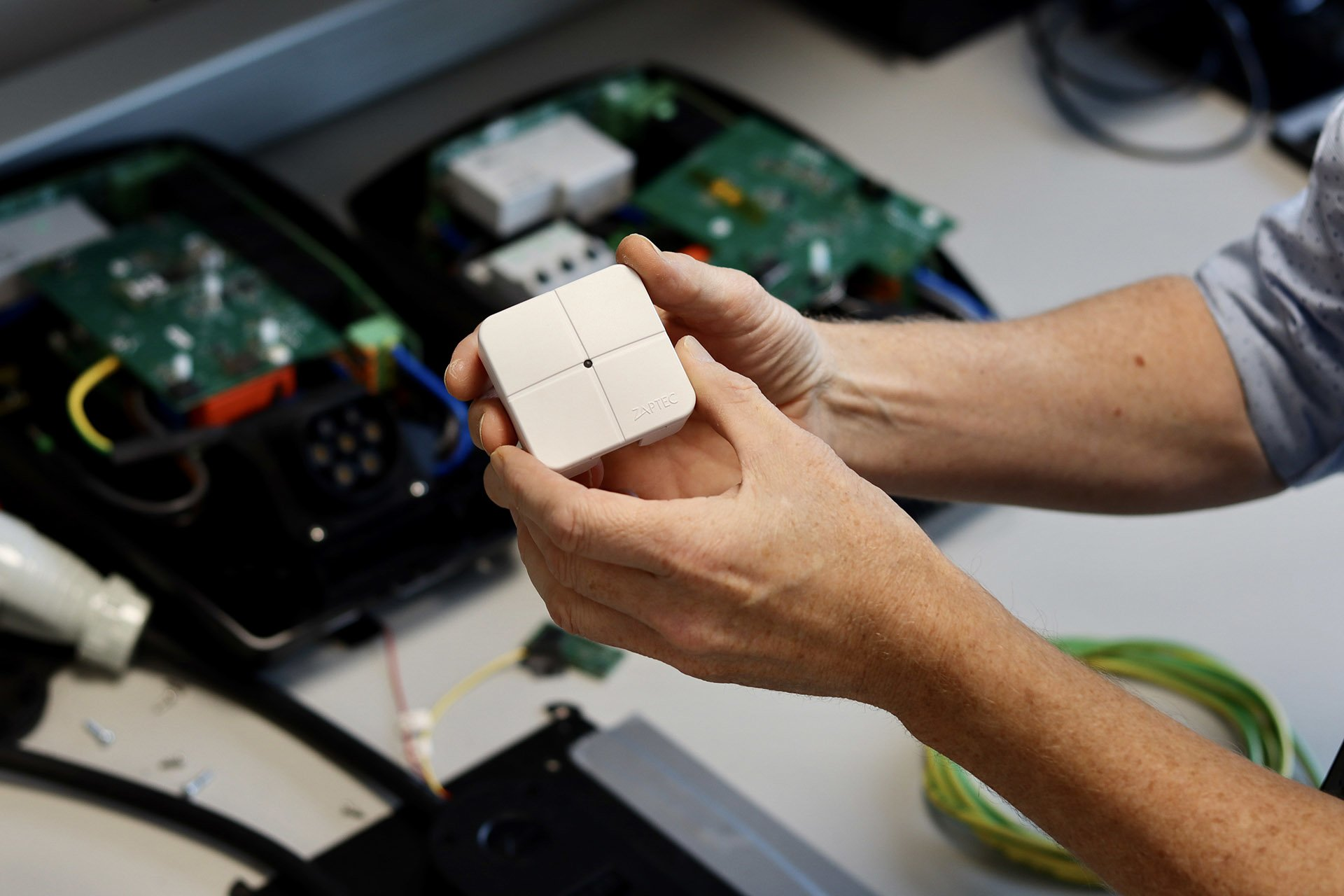 Knut Braut med ZAPTEC APM (Automatic Power Management) for elbillading
