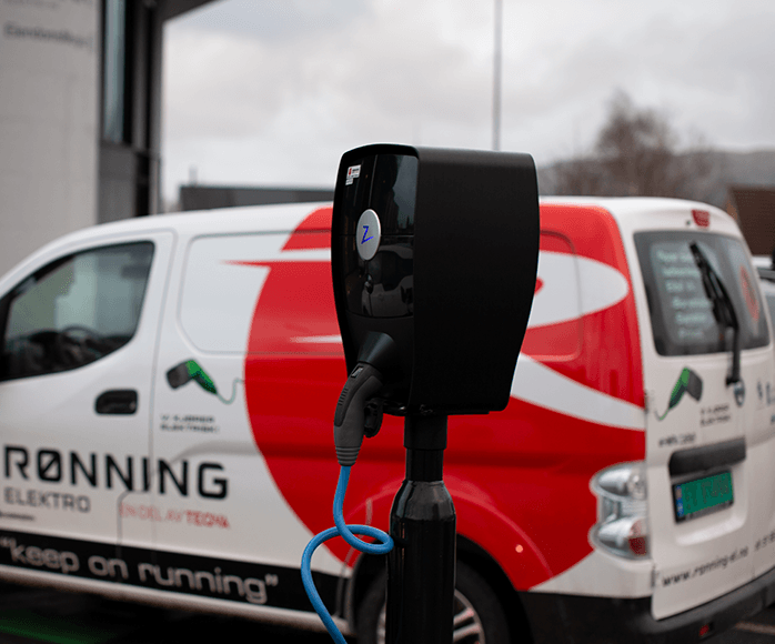 Rønning Elektro share their experiences of ZAPTEC's charging system