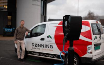 Rønning Elektro deler sine erfaringer med ZAPTEC sitt ladesystem