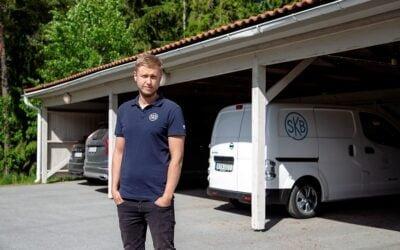 SKB väljer norsk laddlösning för elbilar till sina hyresgäster