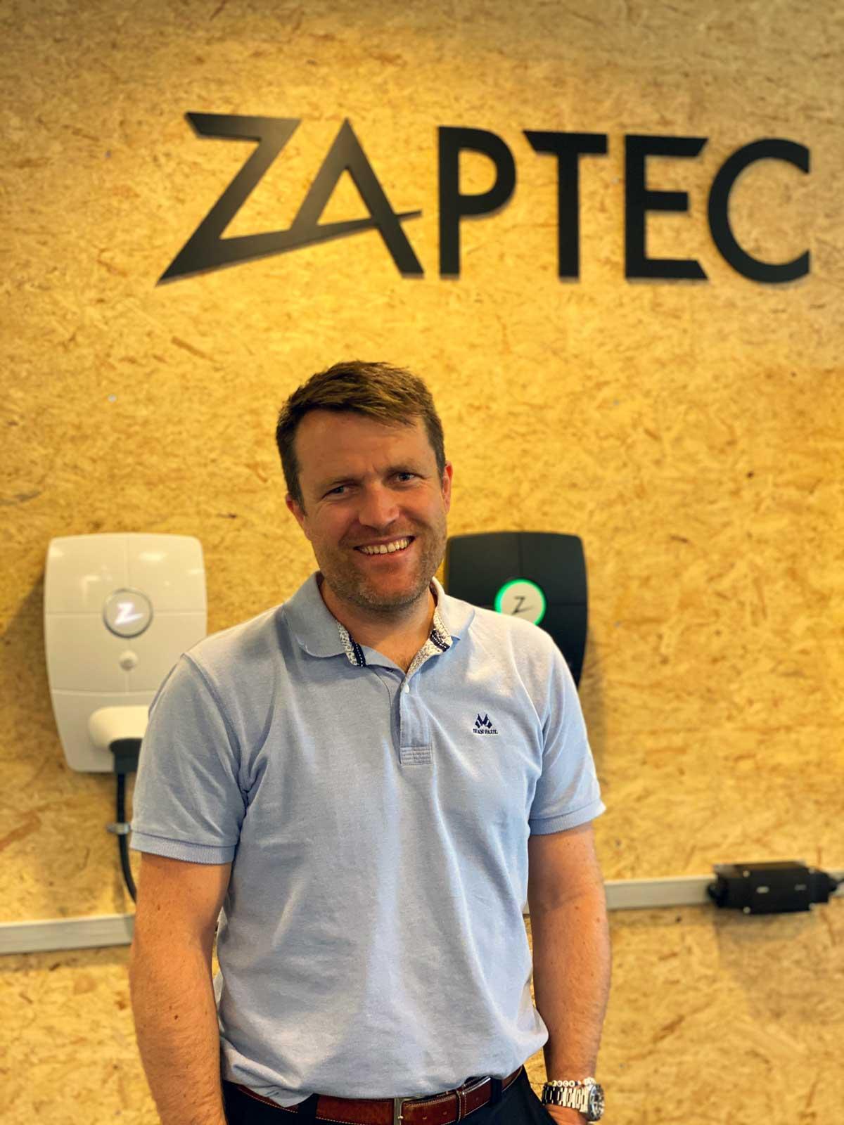 Ole Martin Dahl er ny direktør for ZAPTEC Norge