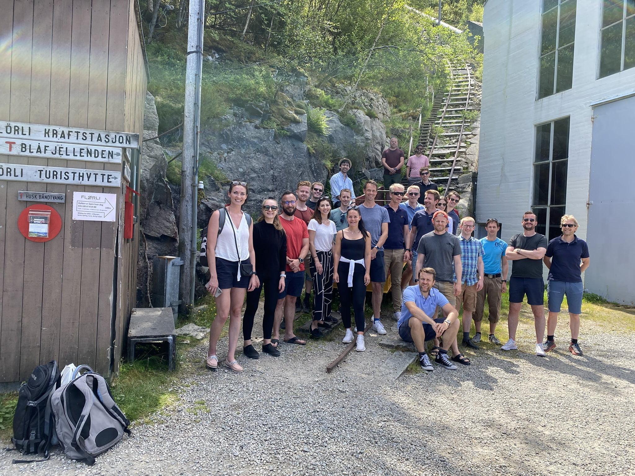 ZAPTEC sommertur til Flørli