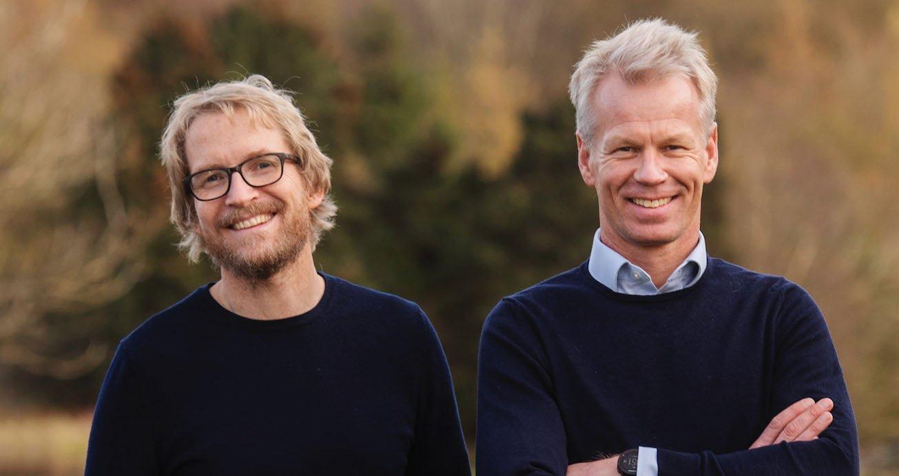 Knut Braut og Anders Thingbø i ZAPTEC